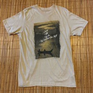 Not All Who Wander Are Lost Nature Hiking Solo T